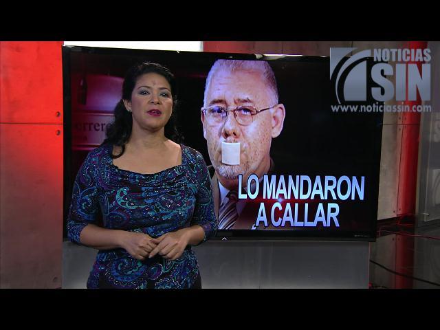 Patricia Solano: Lo mandaron a callar