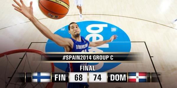 Dominicana vence a Finlandia y se acerca a próxima ronda