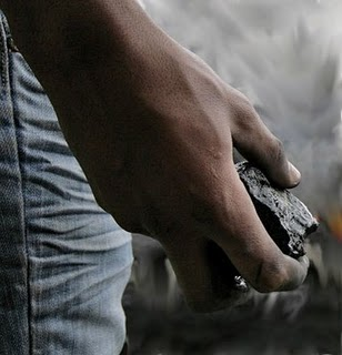 Hieren reportero gráfico de SIN en enfrentamiento entre haitianos y policías