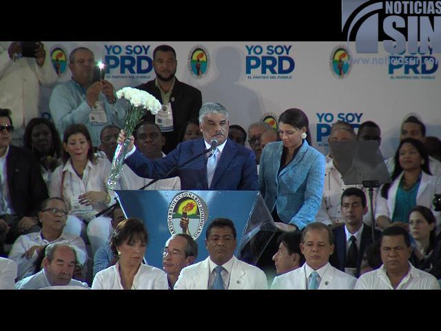 PRD asegura todo está definido en alianza con PLD