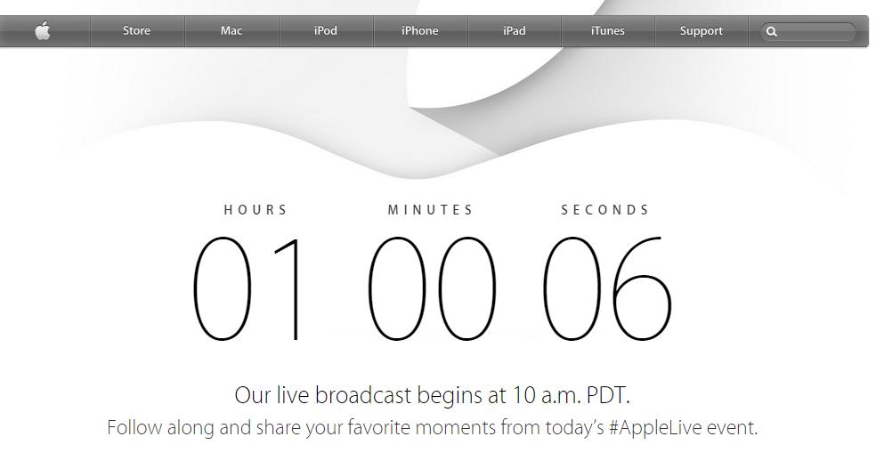 Apple camino al iphone 6...