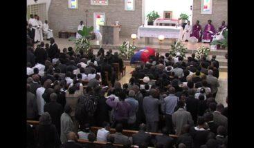 Video: El funeral del exdictador de Haití, Jean-Claude Duvalier