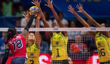 Brasil elimina a Dominicana del Mundial; quedan en 5º lugar