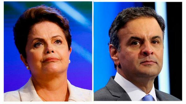 Presidenta brasileña Dilma Rousseff lidera escrutinio con el 50%
