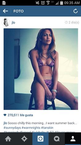 Jennifer López sorprende a sus seguidores de las redes luciendo un pequeño bikini