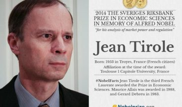 Nobel de Economía 2014 para el francés Jean Tirole