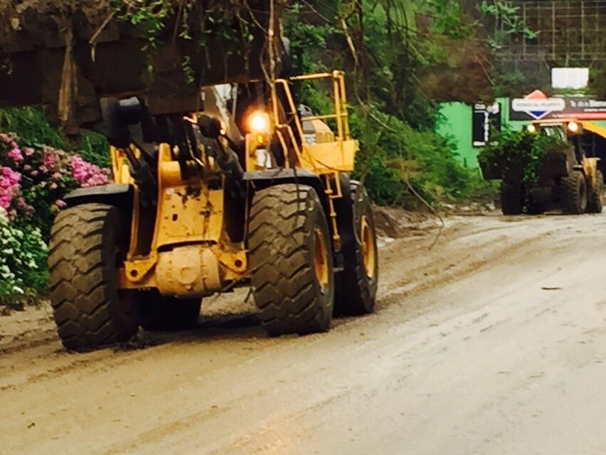 Obras Públicas resolverá daños en vías provocados por lluvias