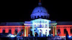 Medina y la Primera Dama dan bienvenida a la navidad en Palacio Presidencial