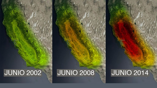 NASA: Las sequías amenazan el suministro de alimentos y la seguridad mundial
