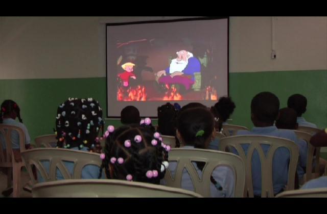 ¡Aula cultural! Incentivan el amor a las artes en niños de Nigua, Haina y Nizao