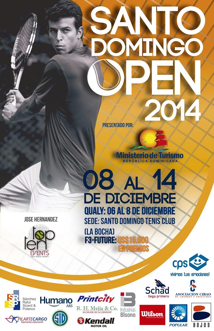 Anuncian Santo Domingo Open 2014 en La Bocha