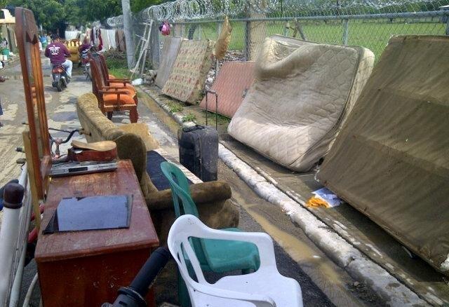 Más de mil viviendas inundadas en Navarrete