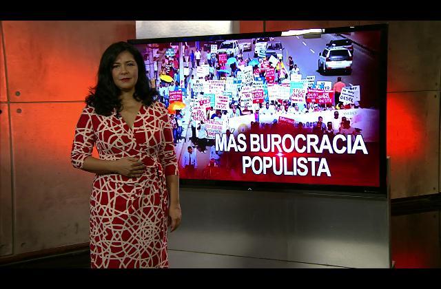 Patricia Solano: Más burocracia populista