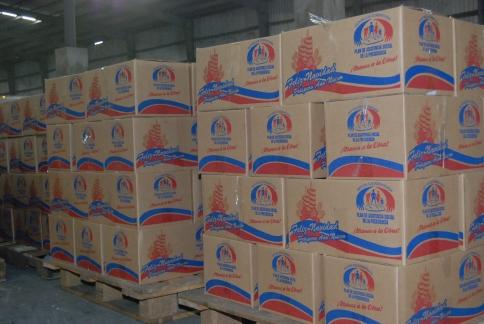 Plan Social de la Presidencia da toques finales a reparto de cajas navideñas