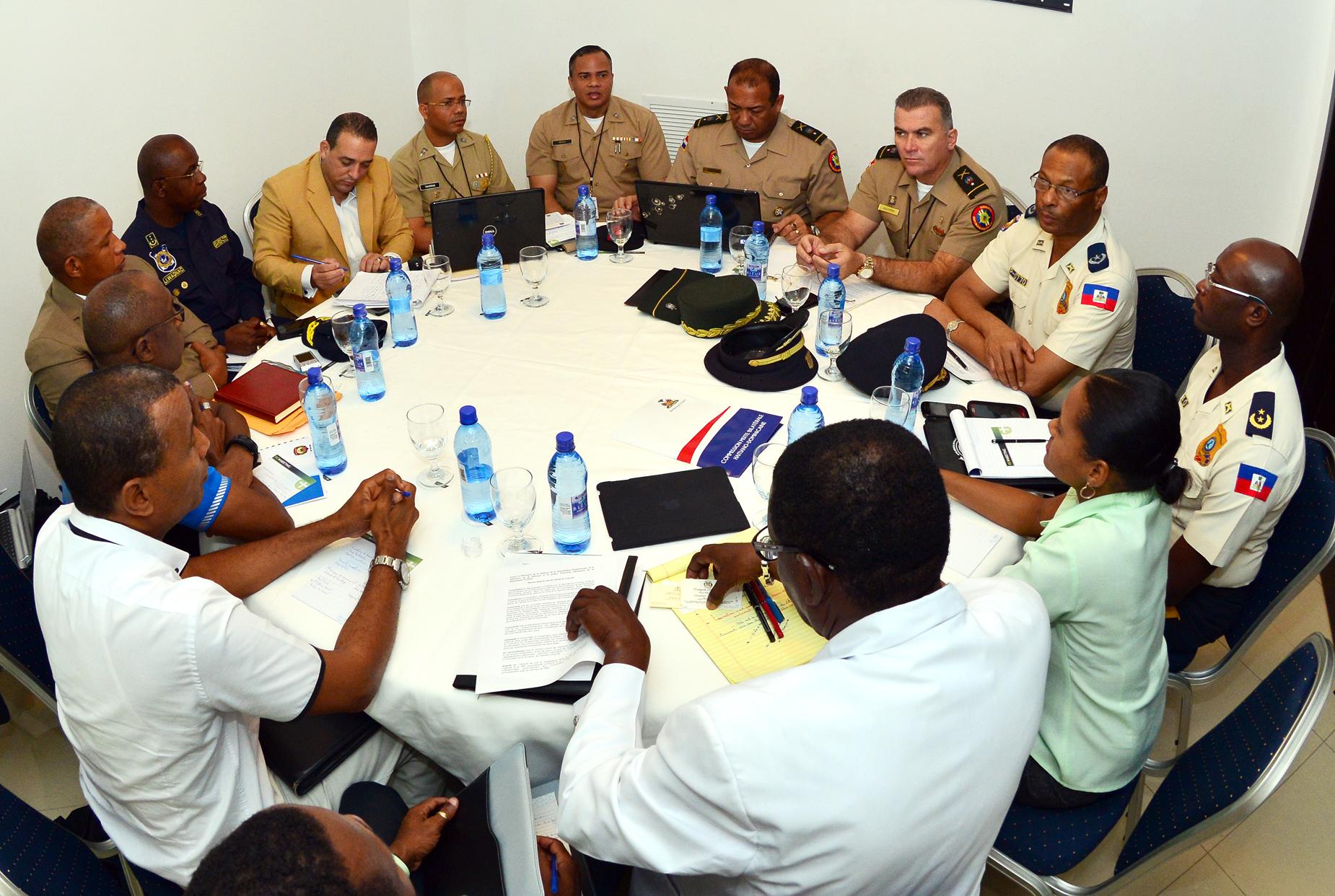 RD y Haití redactan protocolo de seguridad para combatir el crimen organizado