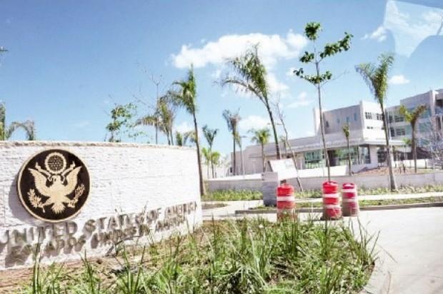 Artículos no permitidos en Embajada de los Estados Unidos en RD