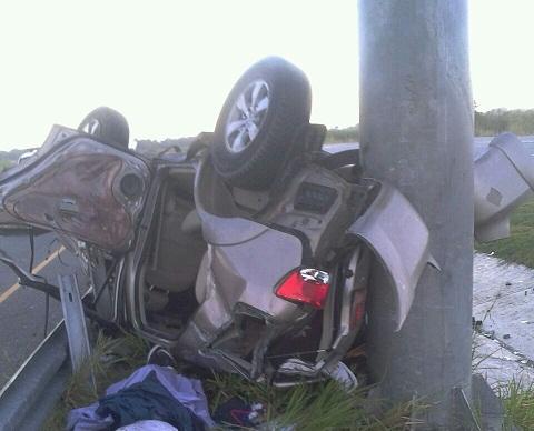 Muere ingeniero en accidente de tránsito en autovía El Coral