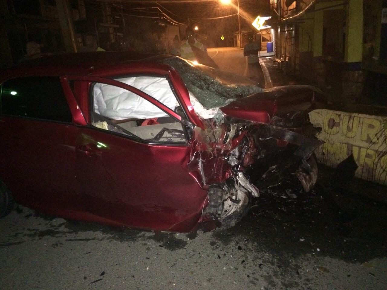 Fotos: Tres muertos y un herido en accidente en carretera Jarabacoa-Constanza