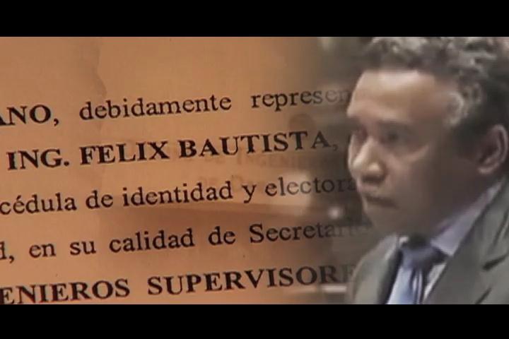 Más contratos que obras en gestión de Félix Bautista en OISOE