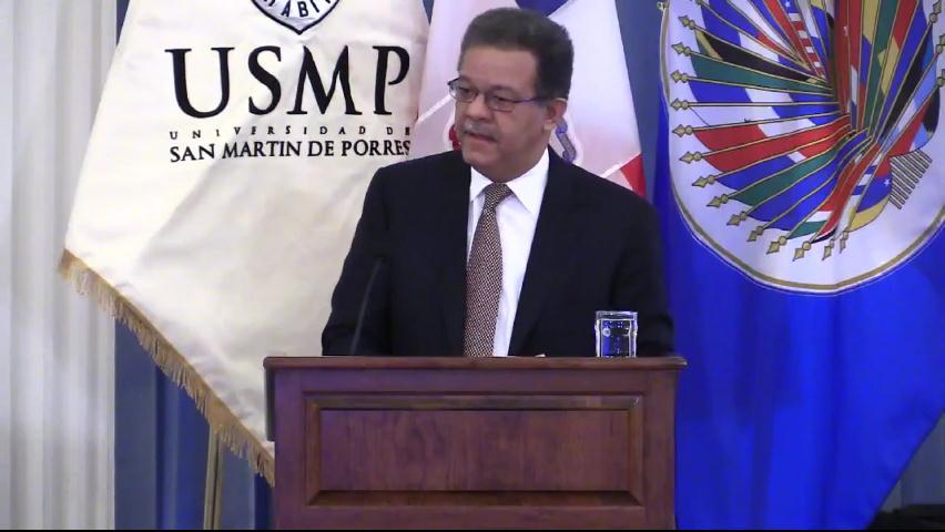 Expresidente  Fernández defiende ante OEA rechazo de RD a sentencia de CorteIDH