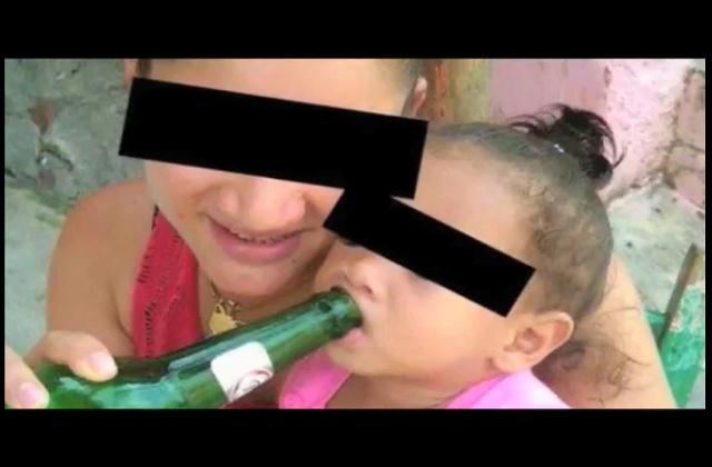 Trompoloco: Deben llevar a un psicólogo madre acusada de darle cerveza a su bebe