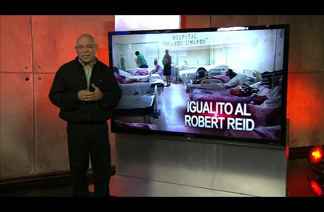 Marino Zapete: Igualito al Robert Reid