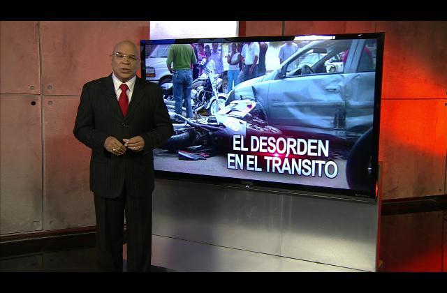 Marino Zapete: El desorden en el tránsito