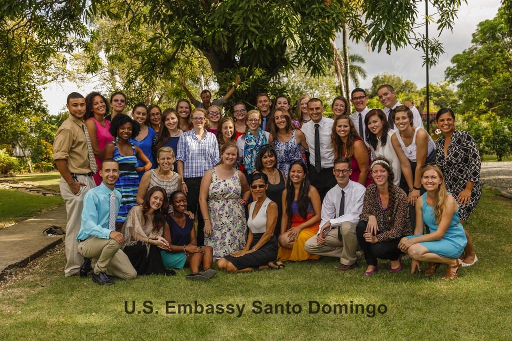 Juramentan 38 voluntarios del Cuerpo de Paz en RD