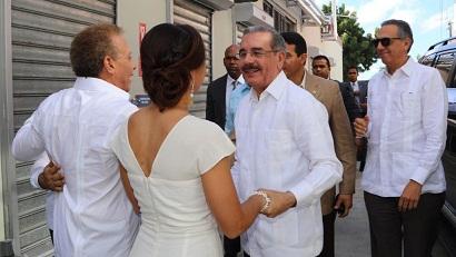 Danilo Medina encabeza inauguración de Fábrica Agroindustrial en SPM