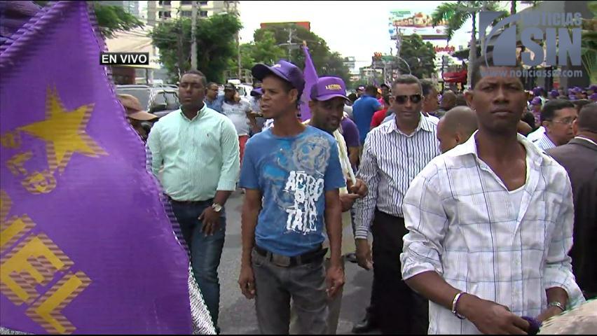 Video íntegro: Agreden a reporteros durante actividad con Leonel Férnandez