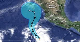 Vance se convierte en huracán frente a las costas mexicanas del Pacífico