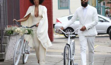 Beyoncé publica imágenes de la boda de su hermana