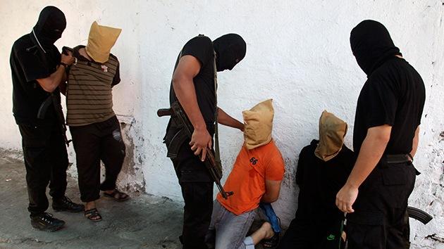 Yihadistas matan a golpes a soldados sirios