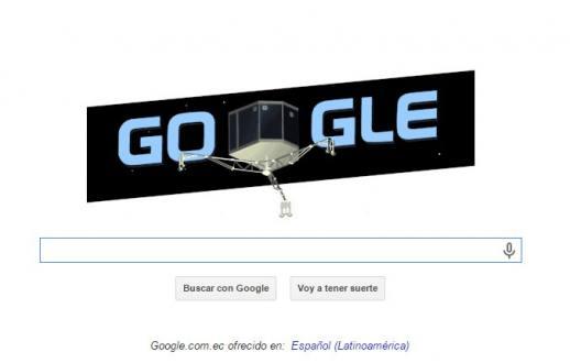 Google y la NASA se unen a la hazaña del Rosetta