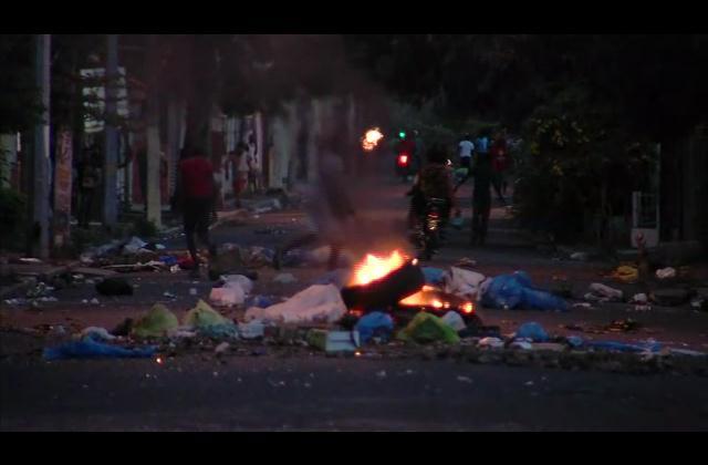 Violentas protestas se registran en el municipio de Cotuí