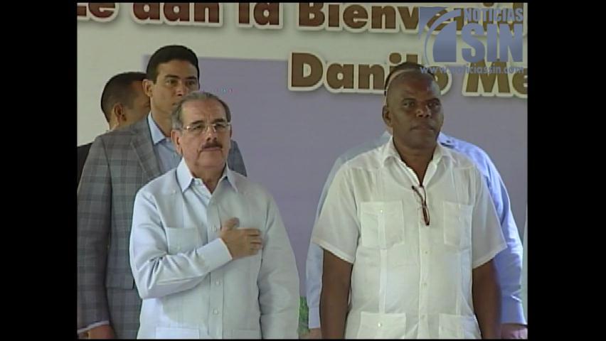 Presidente Medina dice no trabaja en esta gestión para fines electorales