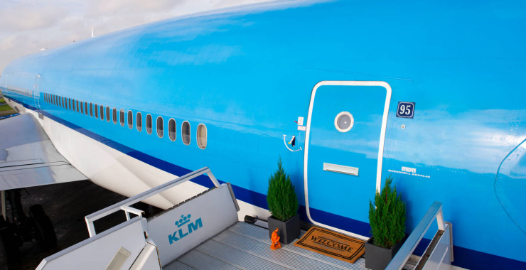 Convierten avión en un hotel de lujo