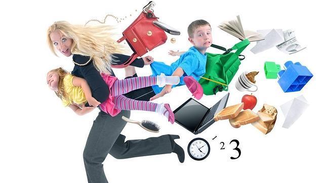 Las mujeres con al menos dos hijos son más productivas en el trabajo
