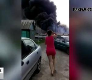Difunden video del avión de Malaysia derribado en Ucrania