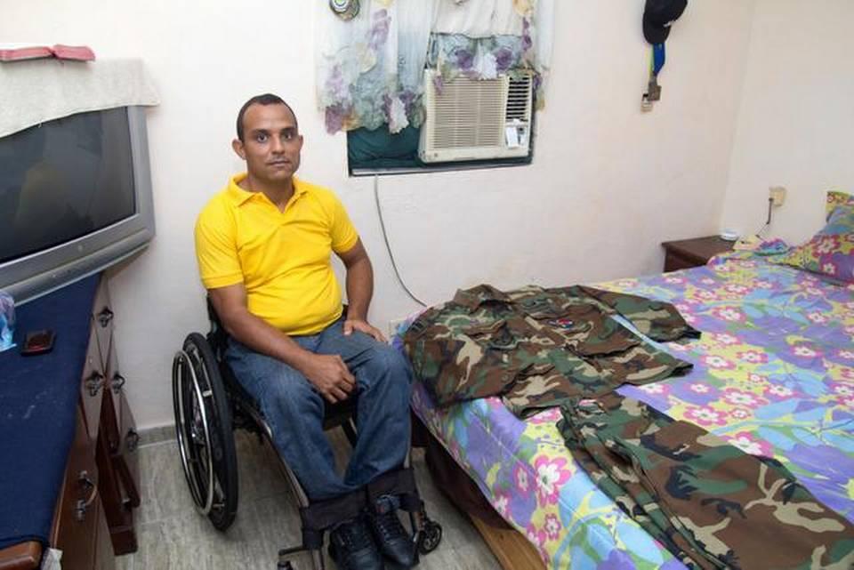 Dominicano Wilkin Cuello, veterano olvidado de la guerra de Irak