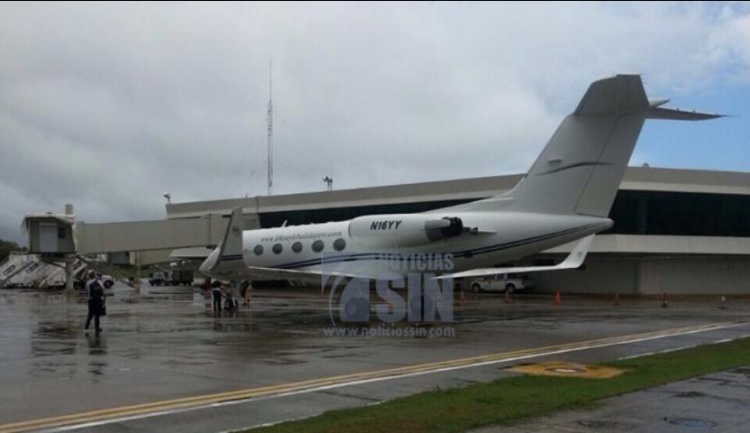 Retienen en aeropuerto Gregorio Luperón avión atribuido a Félix Bautista