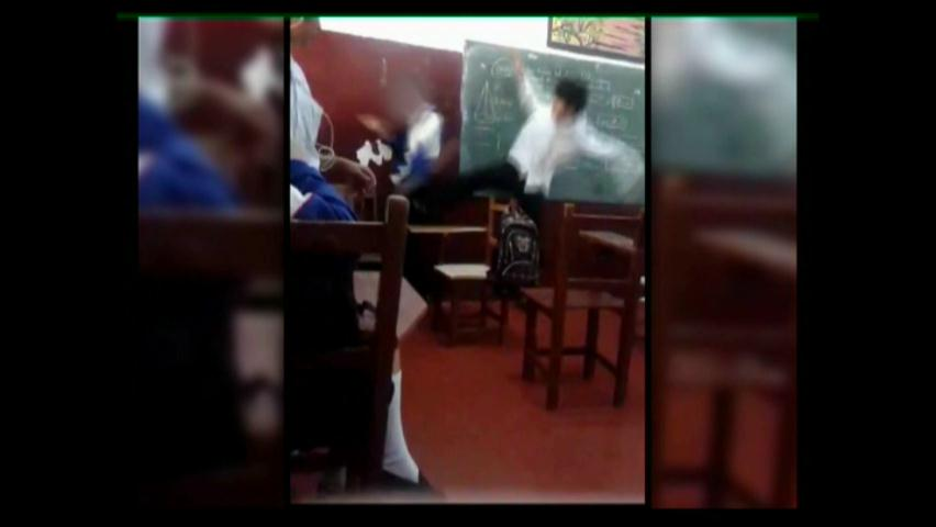 Un estudiante internado en hospital tras pelea en plena aula