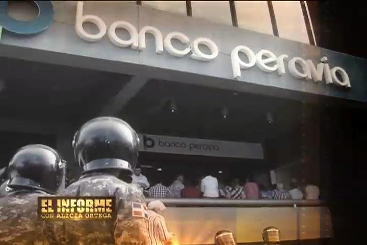 Irregularidades y millonarias transferencias esfumadas en el Banco Peravia