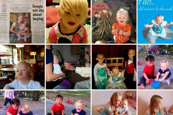 Lanzan campaña para pedir que la próxima princesa de Disney tenga síndrome de Down