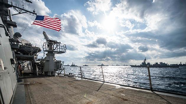 5ta Flota de EE.UU. pierde en mar abierto contenedor con material radioactivo