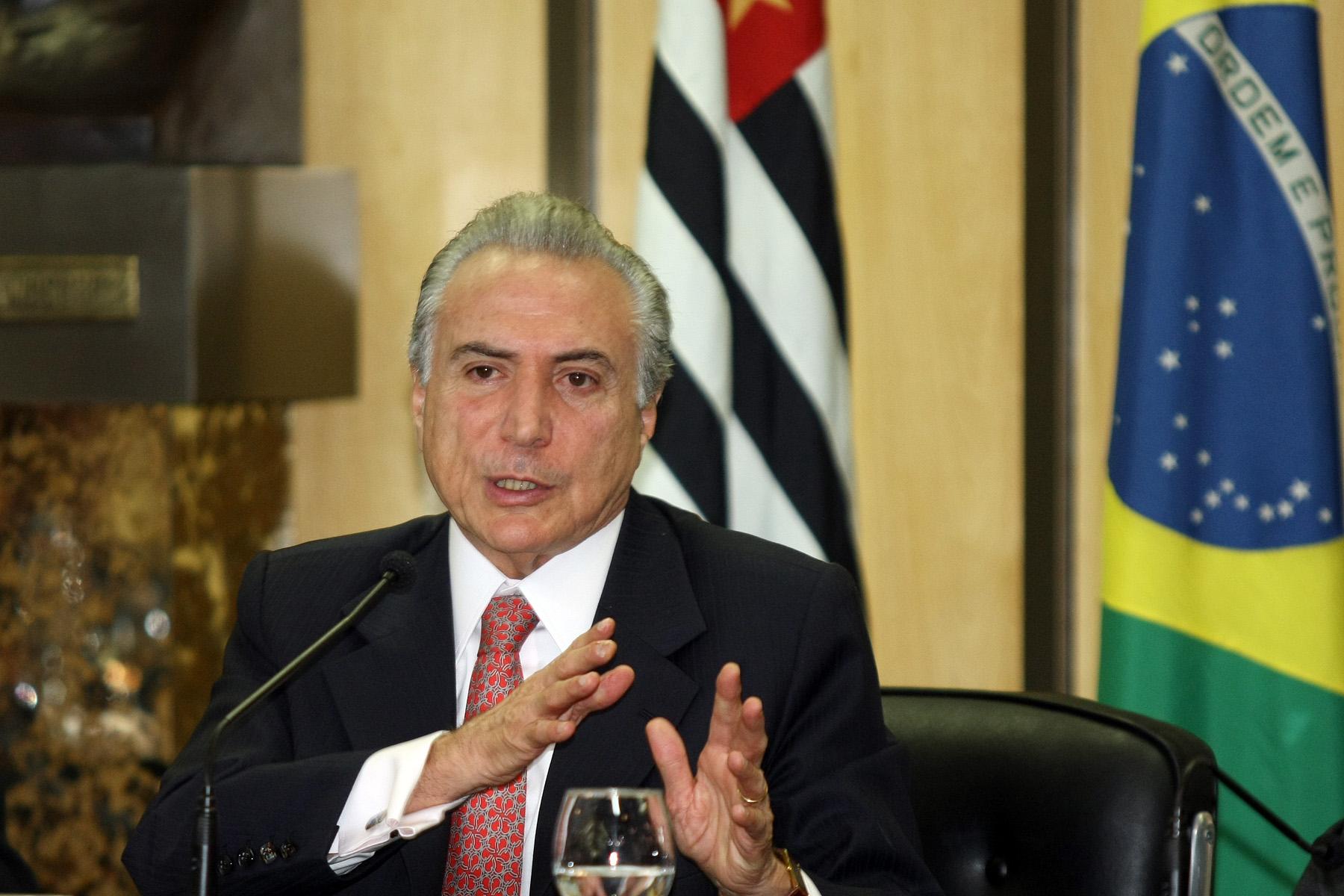 Vicepresidente de Brasil afirma que Rousseff no confía en él ni en su partido