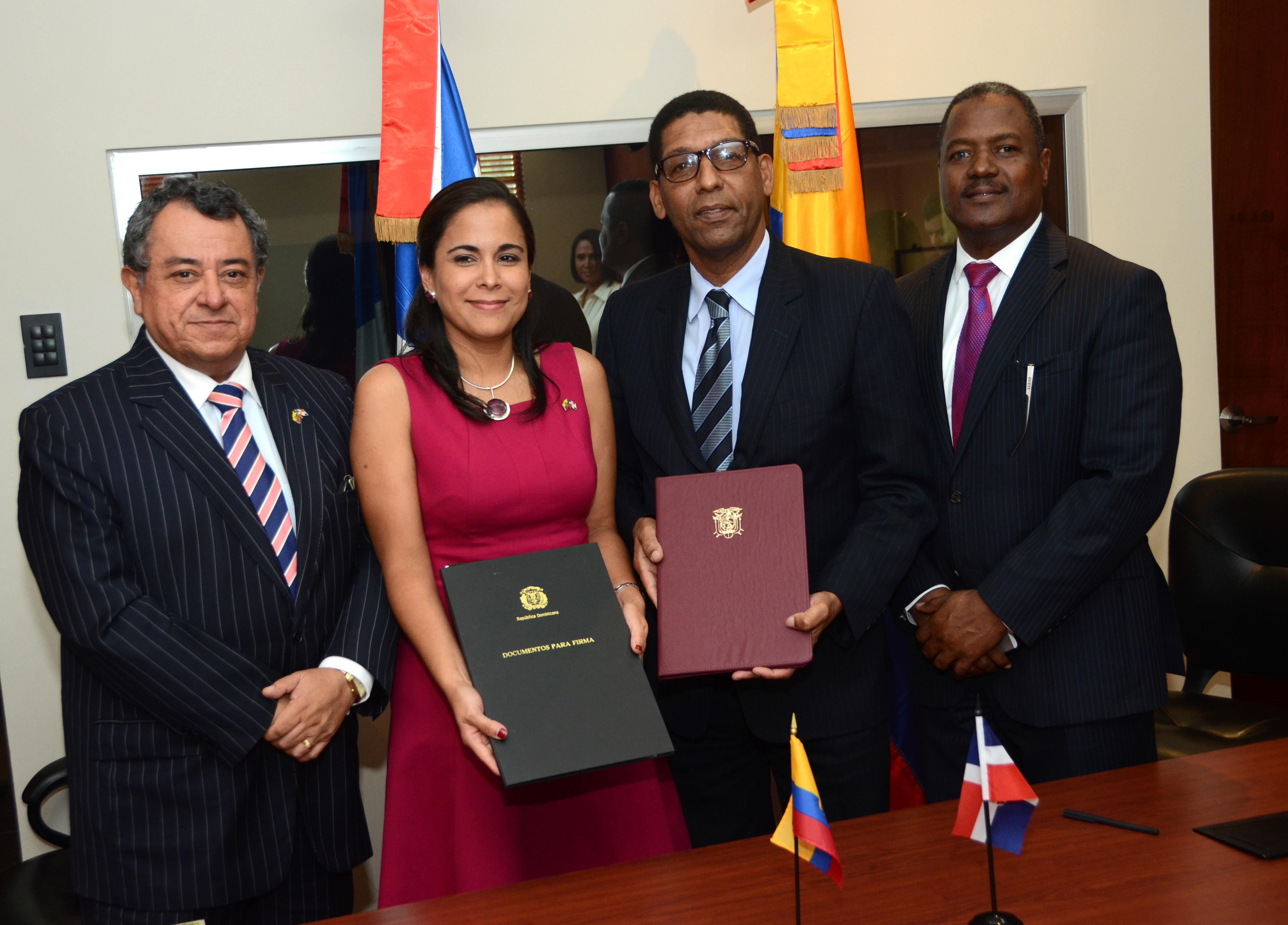 RD y Ecuador acuerdan ejecutar proyectos en diversos sectores