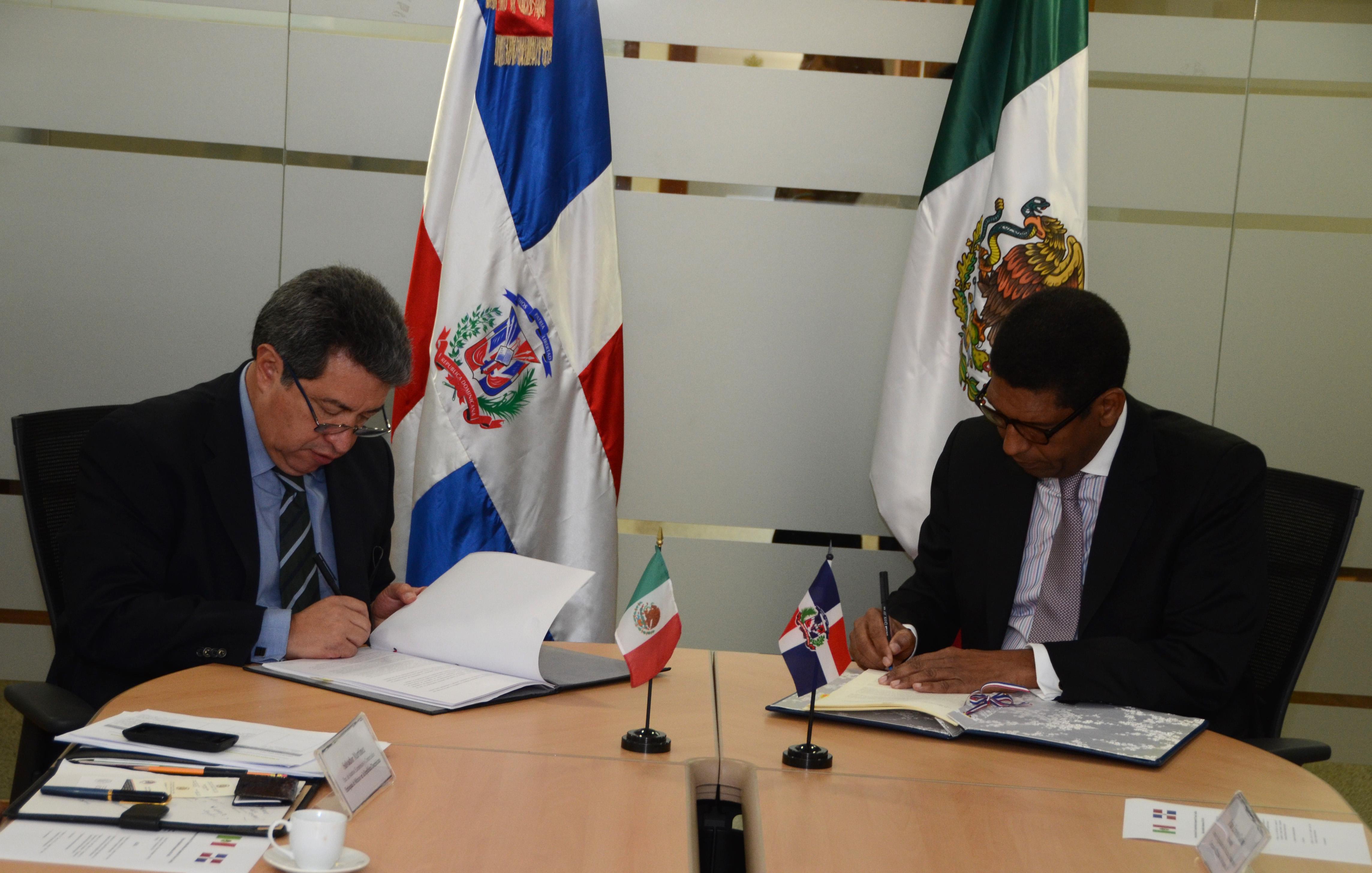 RD y México suscriben programa de cooperación