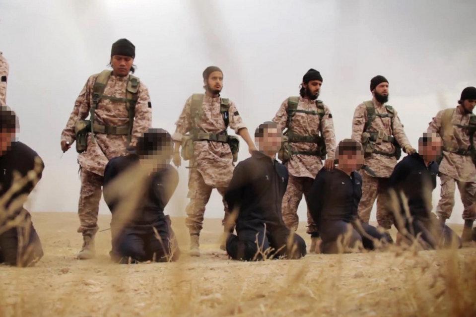 Yihadistas del Estado Islámico decapitan 19 policías iraquíes