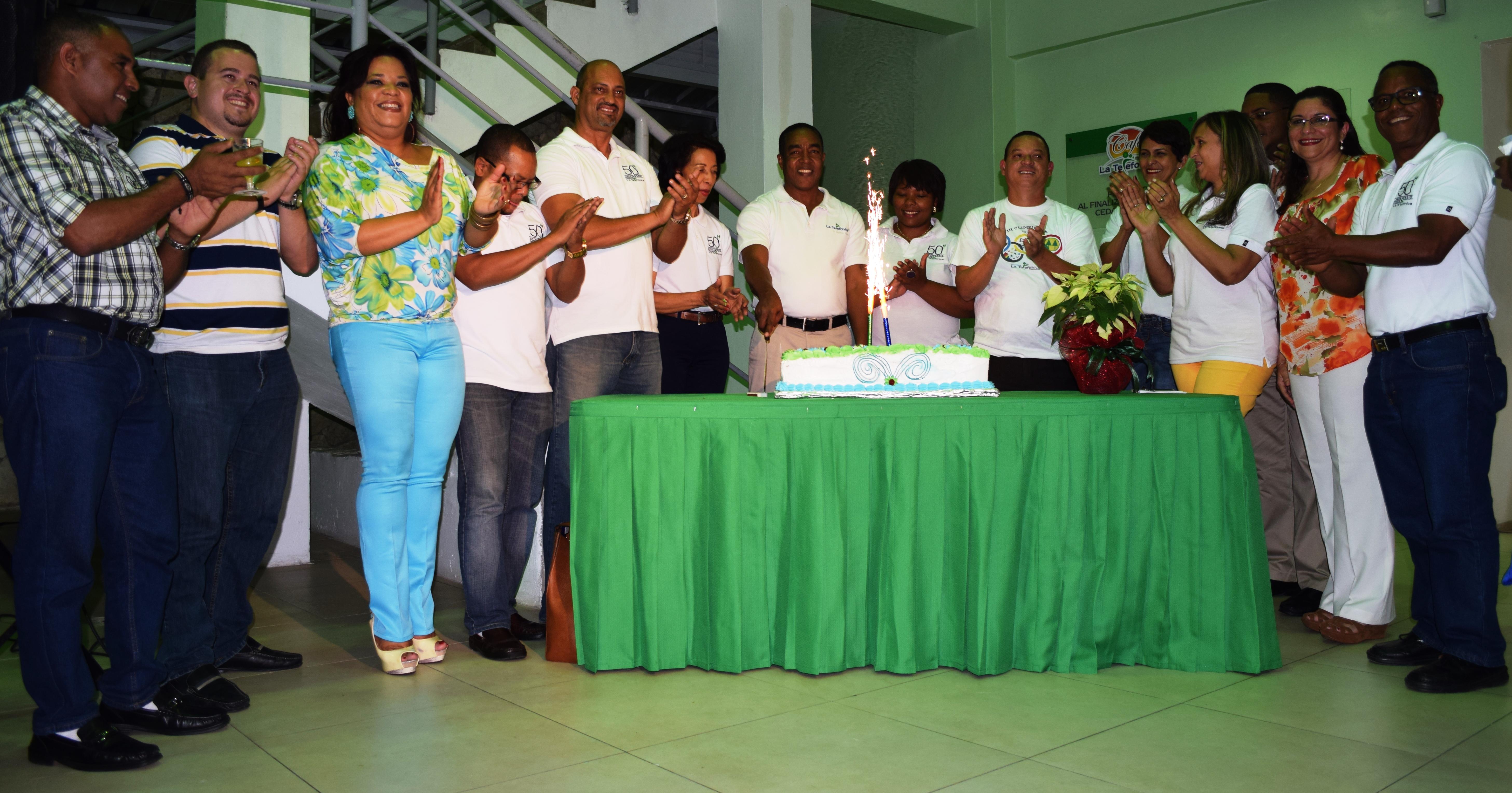 Cooperativa La Telefónica cierra actividades del 50 aniversario